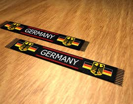 #7 for Germany Scarf Design af toi007