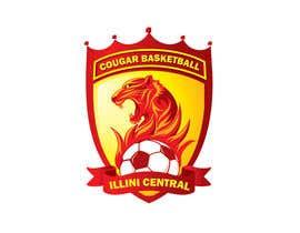 #13 cho Illini Central Cougar Basketball/ bởi designcarry