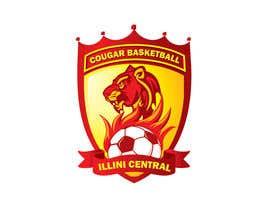 #14 cho Illini Central Cougar Basketball/ bởi designcarry