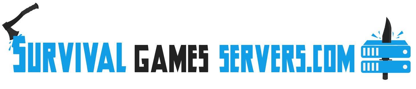 Penyertaan Peraduan #6 untuk Design a Logo for SurvivalGameServers.Com 350x75 Pixels MAX