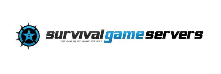 Penyertaan Peraduan #5 untuk Design a Logo for SurvivalGameServers.Com 350x75 Pixels MAX