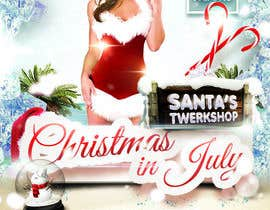#23 for Design a Flyer for Christmas in July af enfieldkay