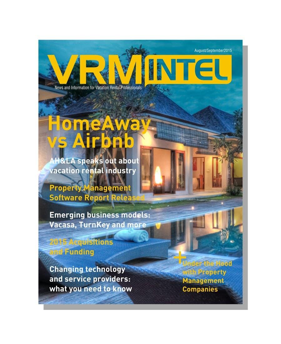 Конкурсная заявка №30 для Magazine Cover for Vacation Rental Managers