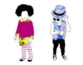maximo20858 tarafından Illustrate fashion & lifestyle for a Kids eclectic clothing line collection  - Stage1 için no 9