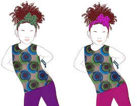raimi tarafından Illustrate fashion & lifestyle for a Kids eclectic clothing line collection  - Stage1 için no 15