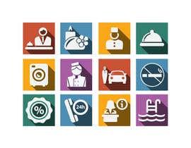 NILESH38 tarafından Hotel App Icons için no 16