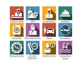 NILESH38 tarafından Hotel App Icons için no 19