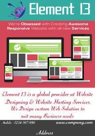 #2 for Design a Flyer for Web Design and Web Hosting company af rjsoni1992