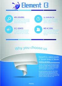 #4 for Design a Flyer for Web Design and Web Hosting company af rjsoni1992