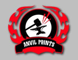 #31 para Design a Logo for my company: Anvil Prints por insane666
