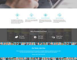 Ankur0312 tarafından Design a Website Mockup for product testing website için no 5