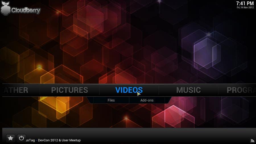 Penyertaan Peraduan #80 untuk I need some Graphic Design for background in XBMC