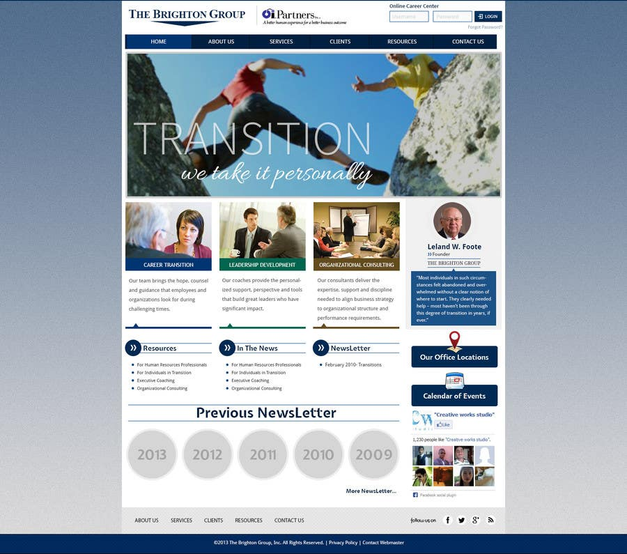 Proposition n°81 du concours Website Redesign