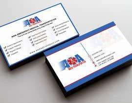 Nahidrahman19 tarafından Design some Business Cards for Med Transporter için no 26