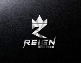 #34 untuk Design a FRESH and INTERESTING Logo for REIGN MMA DEPOT oleh markmael