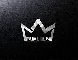 #71 untuk Design a FRESH and INTERESTING Logo for REIGN MMA DEPOT oleh markmael