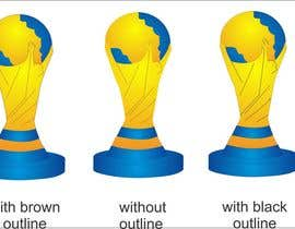 #18 untuk Create the FIFA Worldcup trophy into a logo oleh thoughtcafe