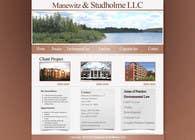 Contest Entry #74 for Website Design for Manewitz & Studholme LLC