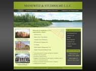 Contest Entry #117 for Website Design for Manewitz & Studholme LLC