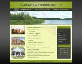 #117 dla Website Design for Manewitz & Studholme LLC przez MohammadNadeem91