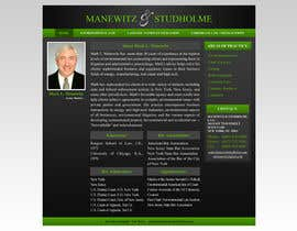 #118 for Website Design for Manewitz & Studholme LLC by MohammadNadeem91