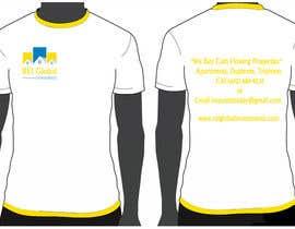 #36 untuk Design a T-Shirt for Real Estate Firm oleh streamdz9