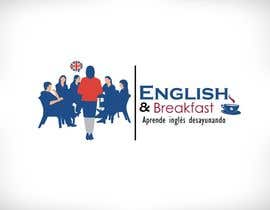 #30 untuk Logo for English and Breakfast English classes oleh heloveshah