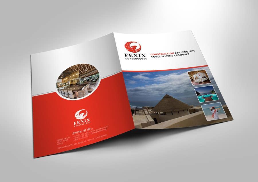 Penyertaan Peraduan #6 untuk Design a multi-purpose brochure for Construction Company