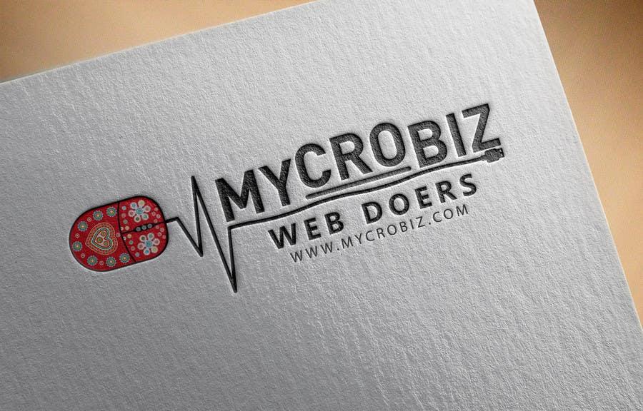 Penyertaan Peraduan #18 untuk Design a Logo for www.mycrobiz.com