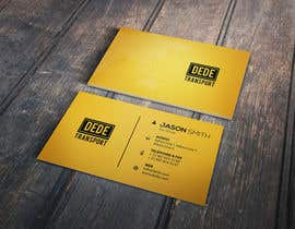 #13 untuk Design some Business Cards for DEDE Transport oleh Fgny85