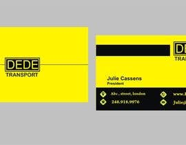 #31 untuk Design some Business Cards for DEDE Transport oleh Shrey0017