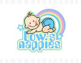 #105 för Logo Design for Low's Nappies av pinky