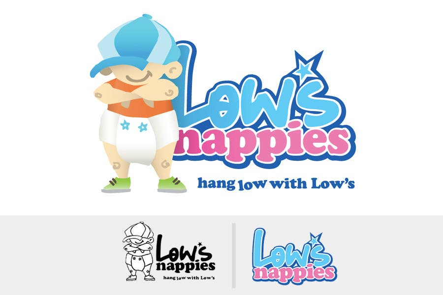 Entri Kontes #94 untukLogo Design for Low's Nappies