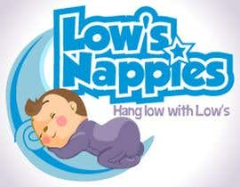 #78 para Logo Design for Low's Nappies por egreener
