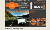 Bài tham dự #1 về Graphic Design cho cuộc thi Webpage design for Driving School