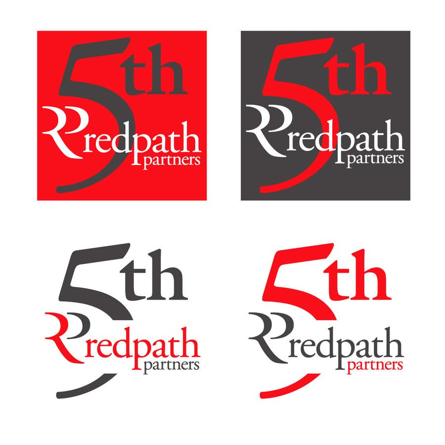 Konkurrenceindlæg #32 for Design a Logo for Redpath Partners' 5 Year Anniversary