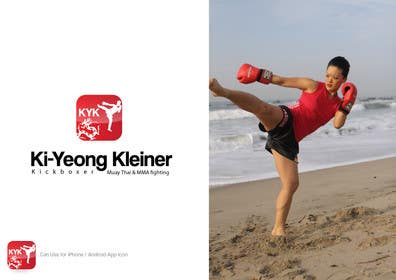 #34 for Design a Logo for Female Kickboxer by creativeartist06