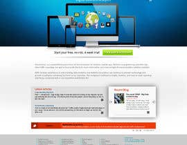 #44 para Redesign our homepage & more work for good entries por ANALYSTEYE