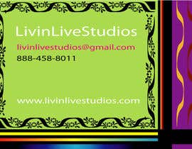 #1 for Design a Flyer for LivinLiveStudios af bdLogomaker007