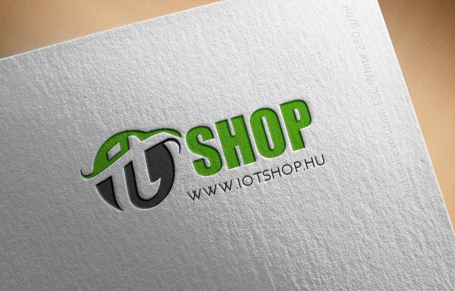 Penyertaan Peraduan #10 untuk Create Logo desing for our electronic webshop