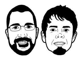 #10 untuk Create a 2D Caricature/Cartoon of 2 Faces oleh marcokap