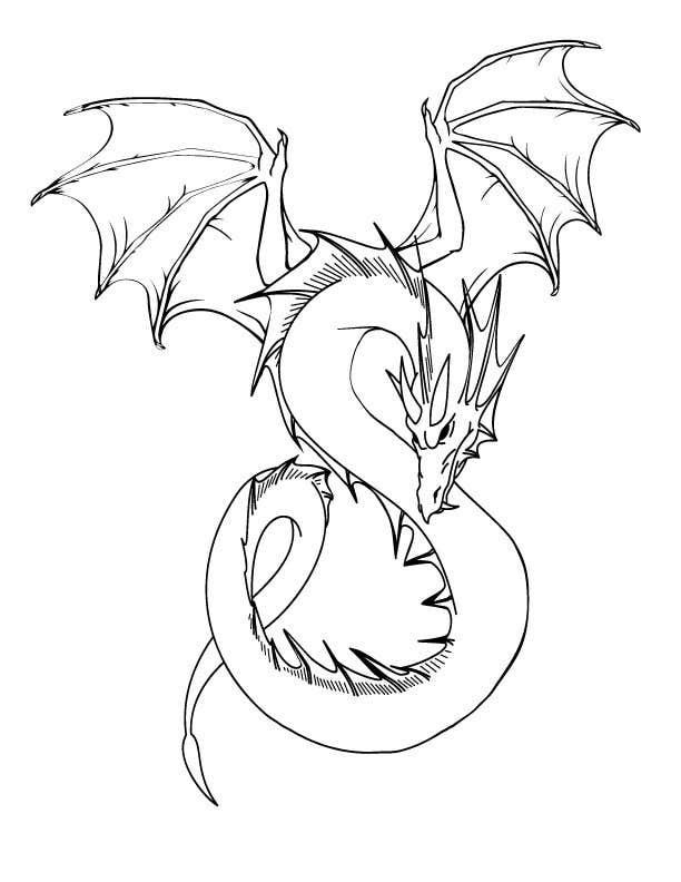Inscrição nº 9 do Concurso para Illustrate a Dragon