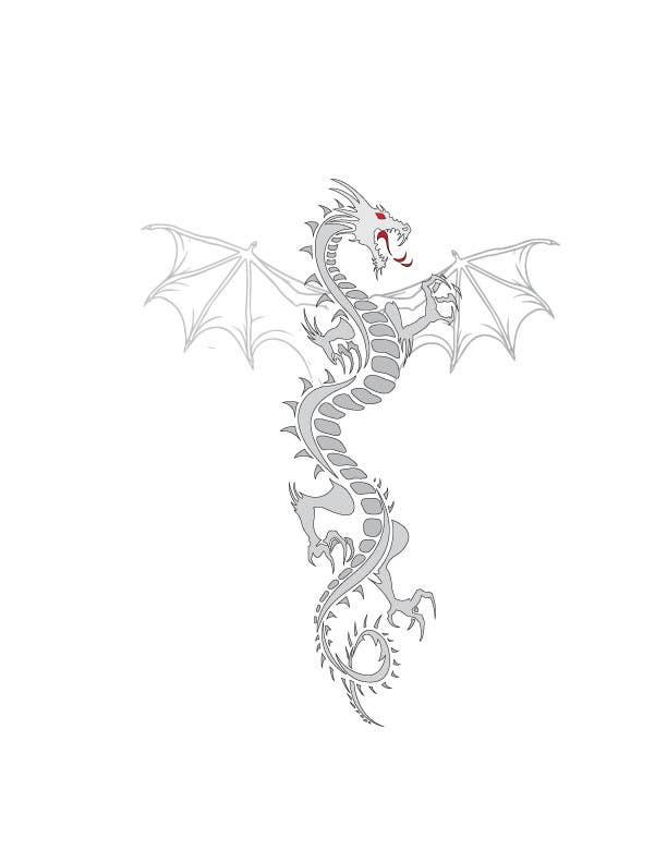 Inscrição nº 11 do Concurso para Illustrate a Dragon