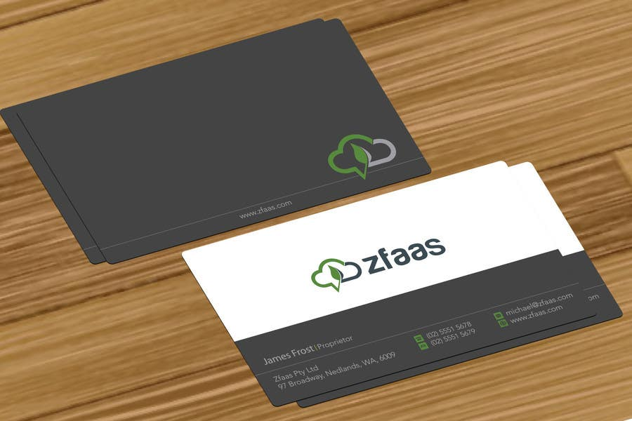 Inscrição nº 5 do Concurso para Design some Business Cards, stationery and a Powerpoint slide template for zfaas Pty Ltd