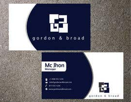 nº 28 pour Design a Business Cards par McMamun