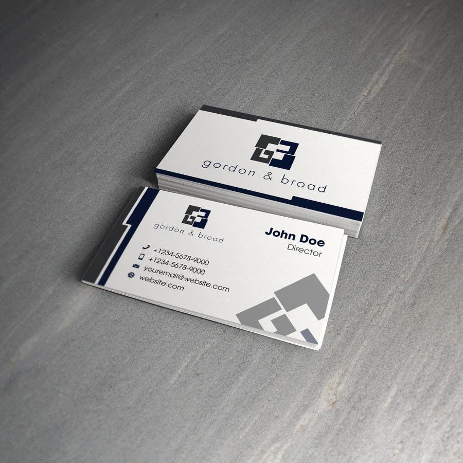 Inscrição nº                                         22                                      do Concurso para                                         Design a Business Cards