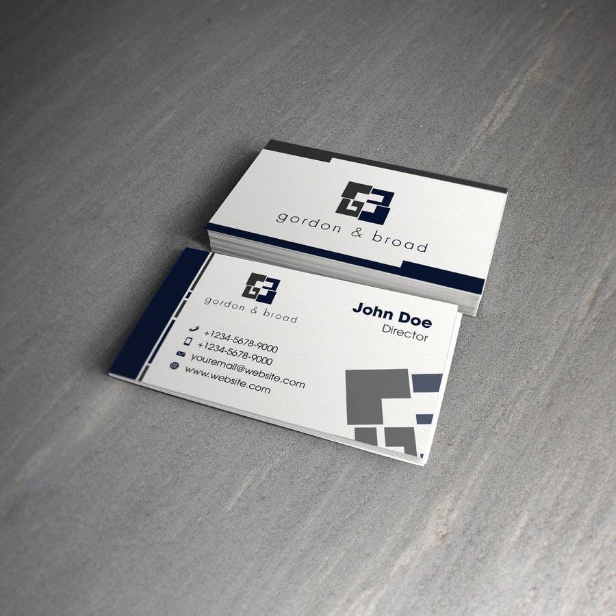 Inscrição nº                                         24                                      do Concurso para                                         Design a Business Cards
