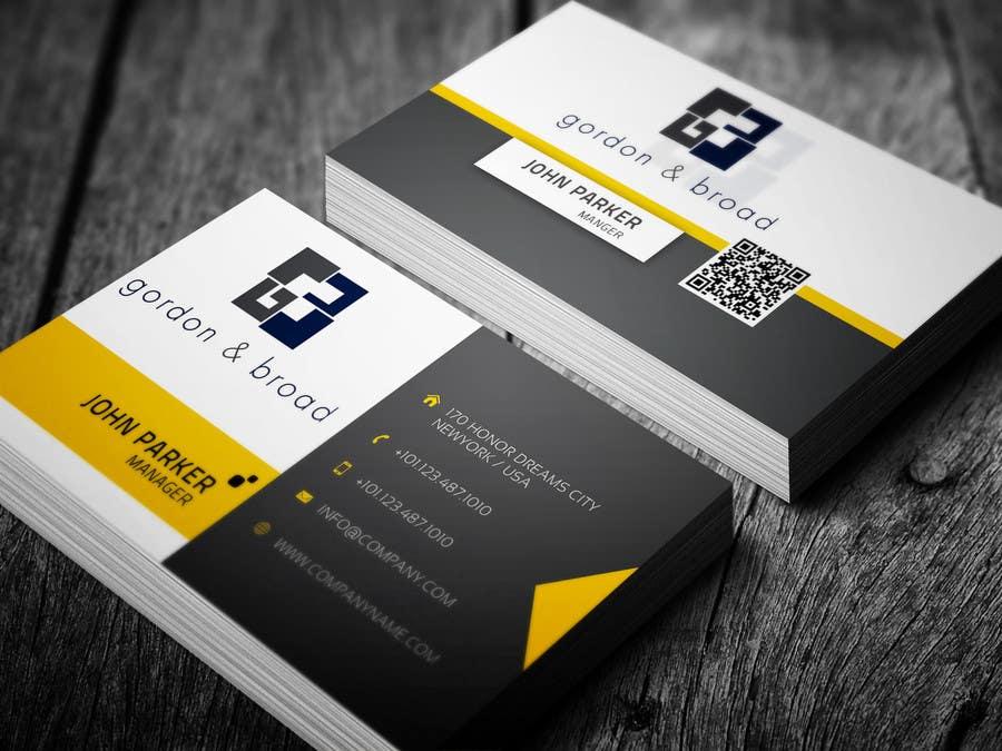 Inscrição nº                                         36                                      do Concurso para                                         Design a Business Cards