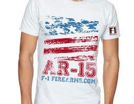 #10 for Firearms T-Shirt by VikiFil