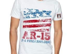 #10 for Firearms T-Shirt af VikiFil